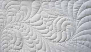 Quilting the Quilt: Find Your Feather Style | APQS : feather quilting - Adamdwight.com