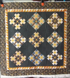 miniature quilt, how to quilt a miniature quilt on a longarm, Linda Rech