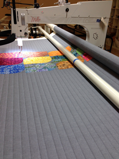 straight line quilting, stitch in the ditch, channel locks, ruler work, APQS, longarm quilting