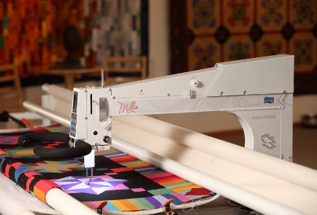 compare longarm quilting machines, Millennium, Lifetime Warranty, Quilt Glide, Quilt Path, Freedom, Lucey, Lenni, George, find and APQS dealer, APQS, longarm quilting