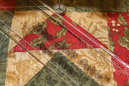 Quilting with templates APQS