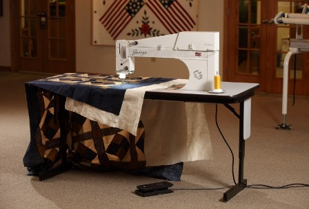 What's The Difference Between A Sitdown Longarm Machine Vs A Awesome Quilting Frame For Domestic Sewing Machine