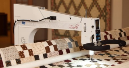 Quilting Machines- How do they work? | APQS : george quilting machine - Adamdwight.com