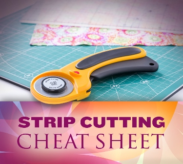 quilting tips, strips, strip cutting