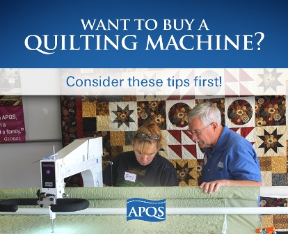 Things to consider when buying a longarm quilting machine | APQS : used longarm quilting machine for sale - Adamdwight.com