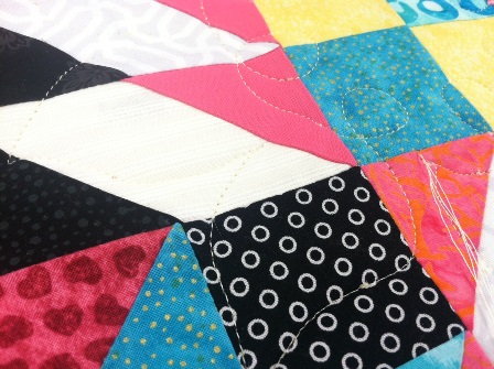 quilting paper, water soluble stabilizer, no-mark quilting method, APQS, tutorial, longarm quilting