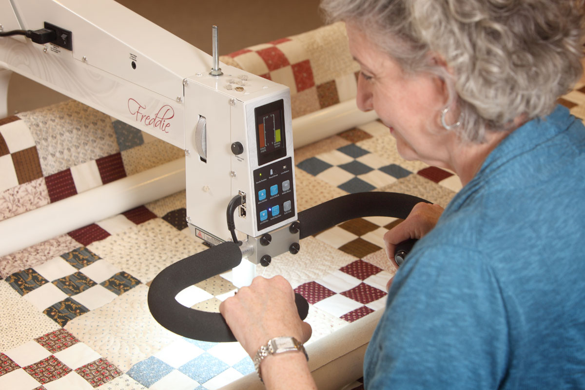 Marianne Fons Quilting with Freedom