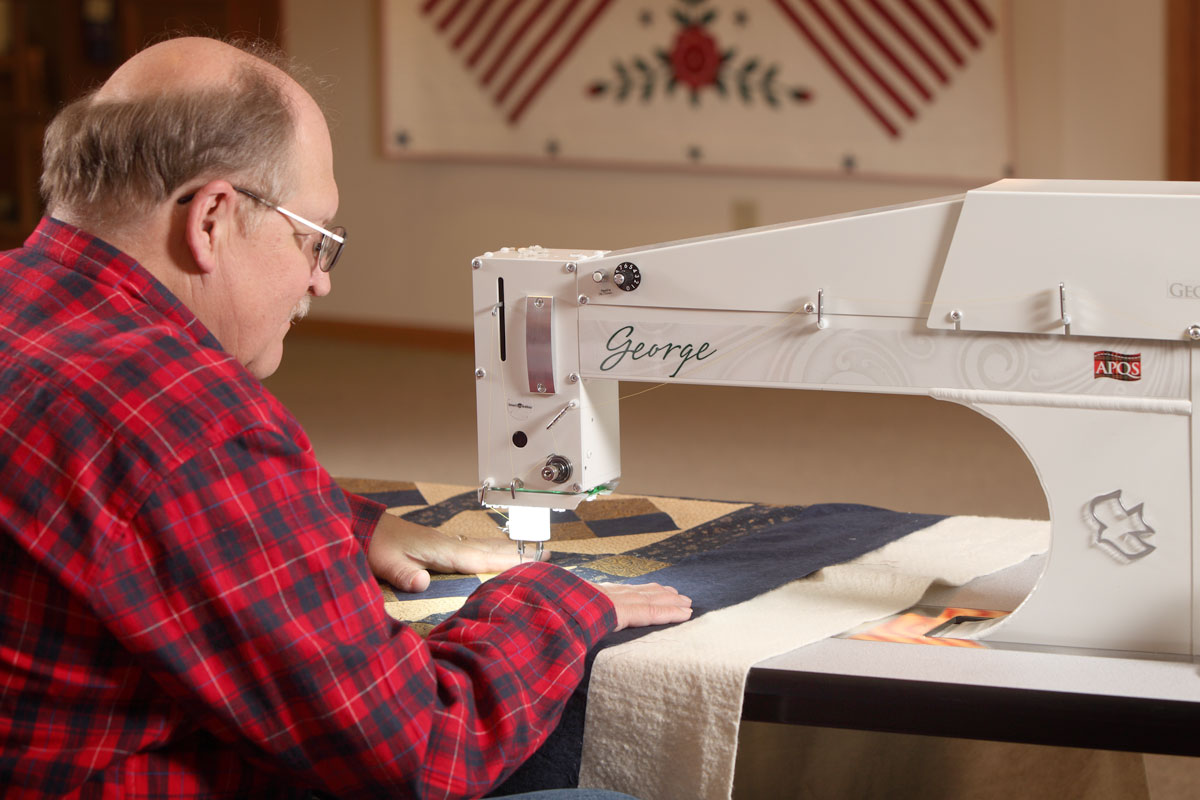 George Quilting with George
