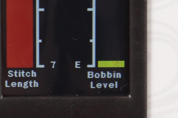 Low Bobbin Indicator