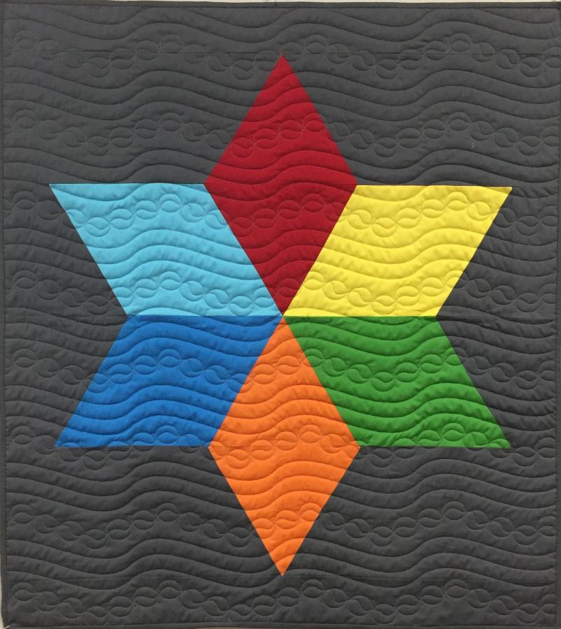 Quilt Pattern Big Star Free Download Apqs