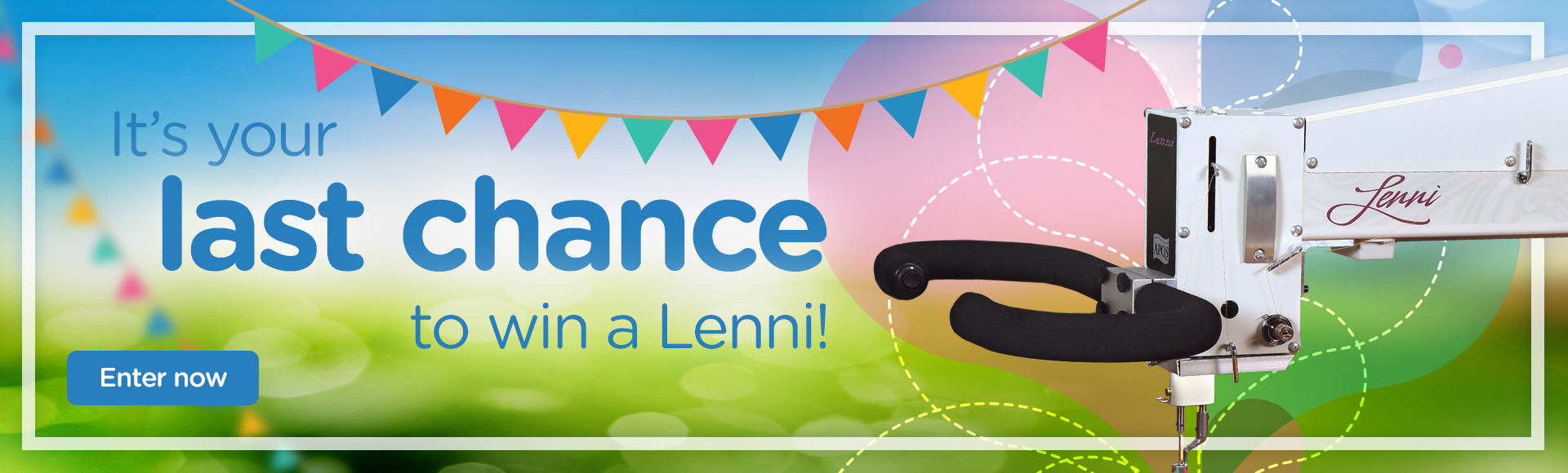 Last chance to enter Lenni giveaway
