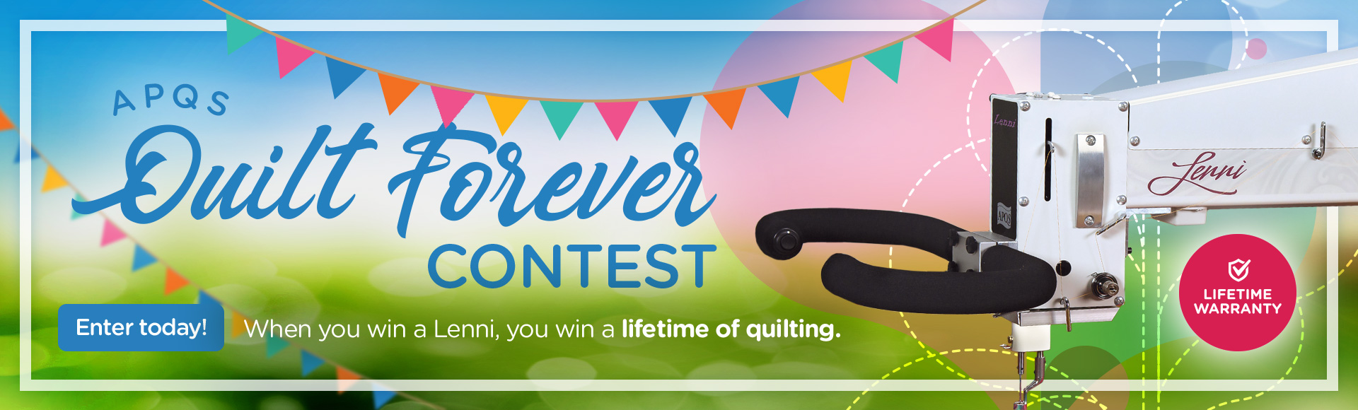 Quilt Forever Contest Win a Lenni