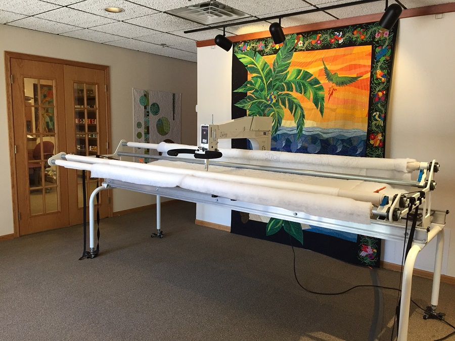 quilting apqs longarm for long used arm machines forums post liberty quilt sale topic thumb