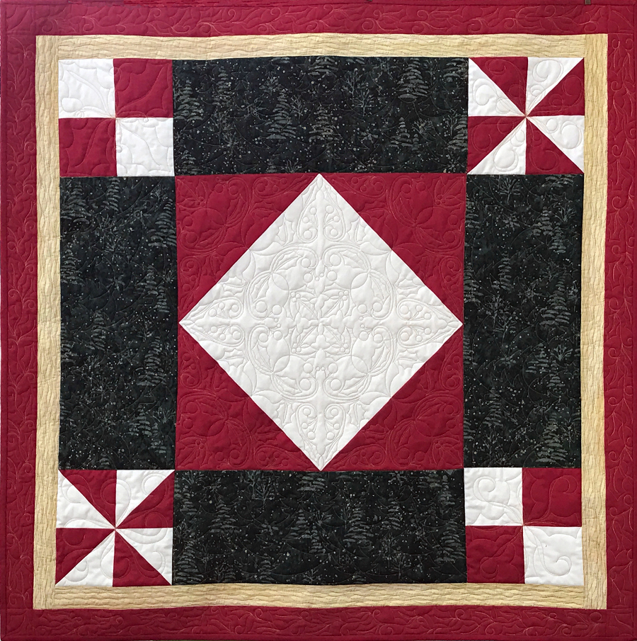 Free Quilt Patterns For Holidays : Quilt pattern: Pick your Holiday table topper (free download) APQS