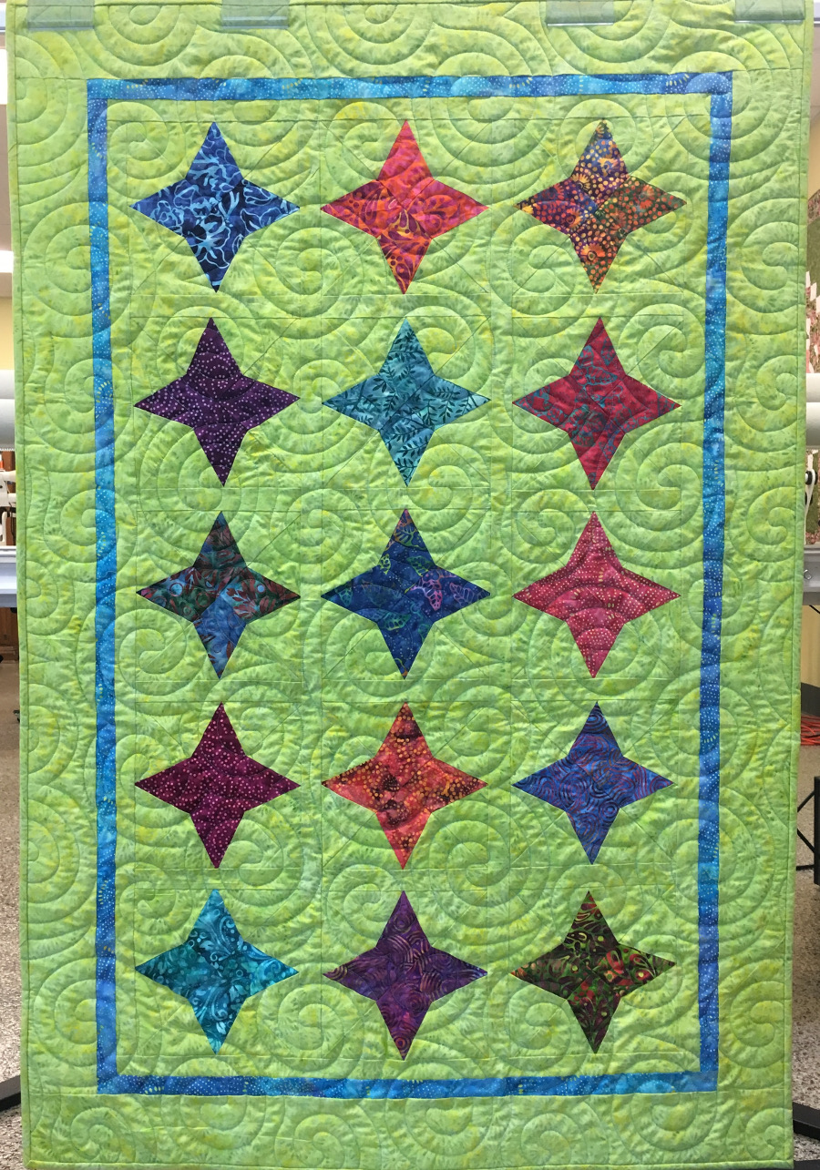 free quilt pattern daystar 2017 apqs
