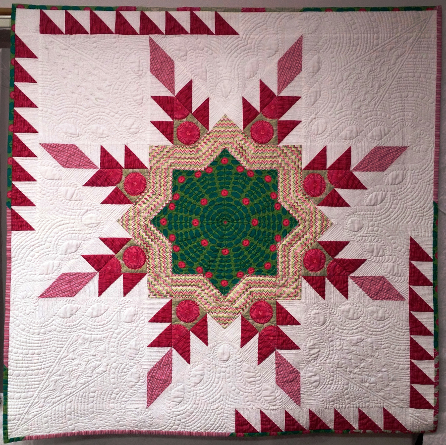 Quilt Pattern Radiant Star : Free quilt pattern: Radiant Star 36 APQS