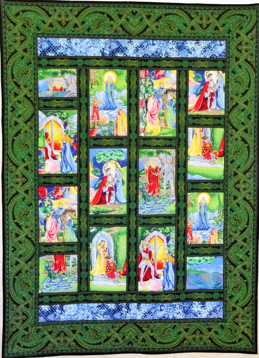 Free quilt pattern: Knights and Ladies | APQS