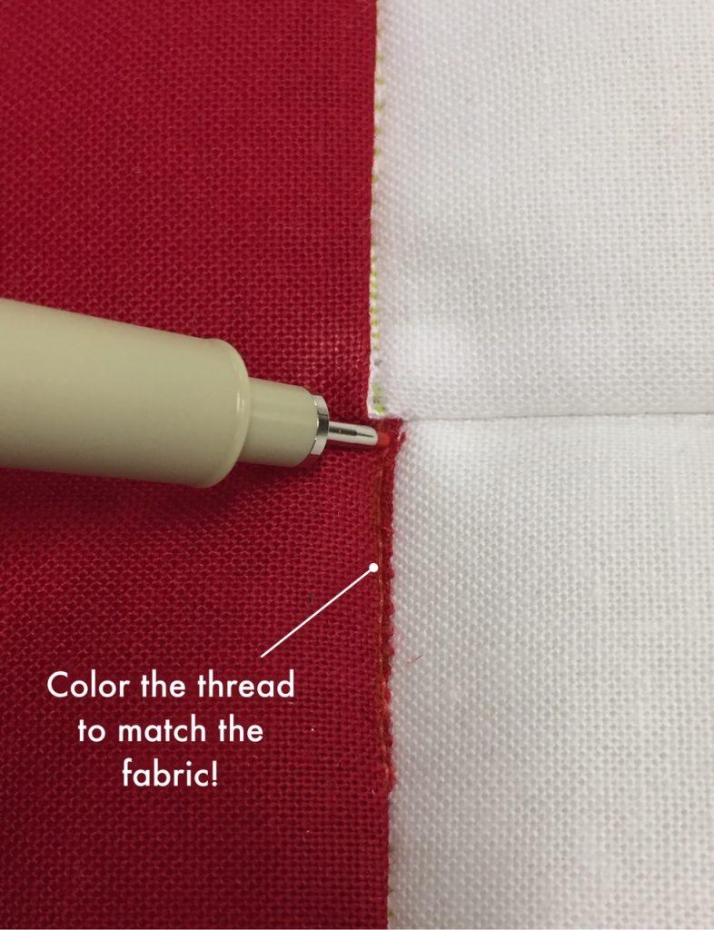 Photo 6 - color the thread