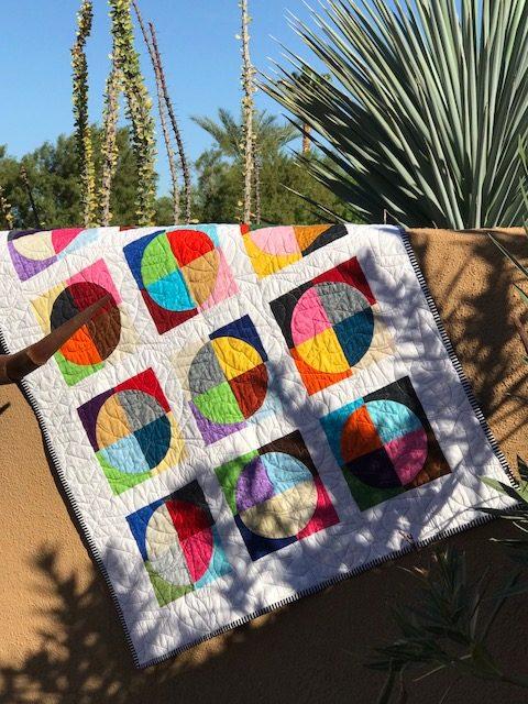Free Quilt Pattern Round And Around Apqs