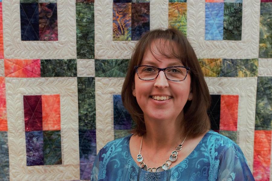 Kathy Schwartz, tamarack shack, apqs, apqs longarm quilting, longarm quilting, quilting business