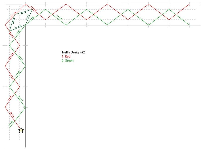 Trellis Design 2 Border Design
