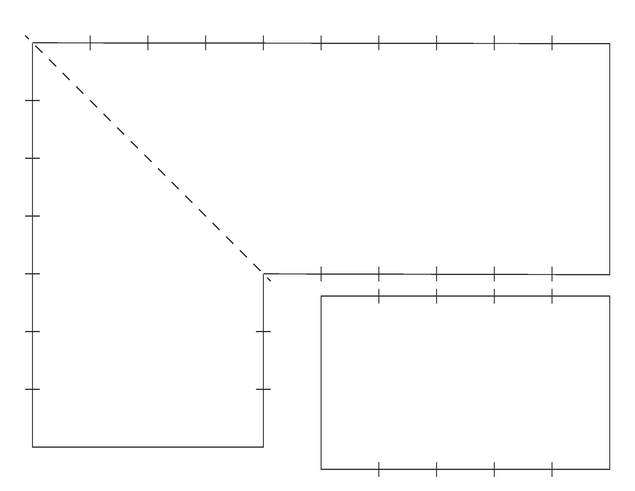 Blank Corner Border Worksheet