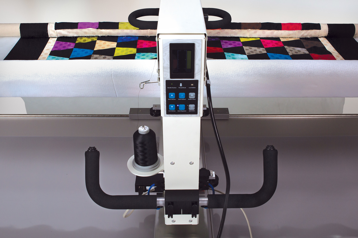 Gallery: Freddie Quilting Machine - Photo of Back side of quilting machine
