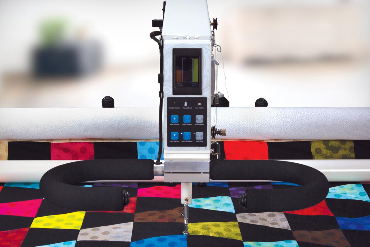 Gallery: Freddie Quilting Machine - Front photo of quilting machine