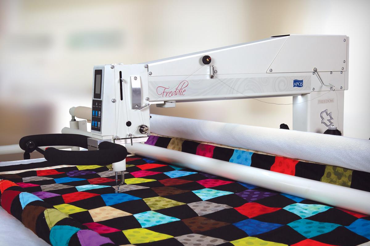 Gallery: Freddie Quilting Machine - Hero Photo of Quilting Machine