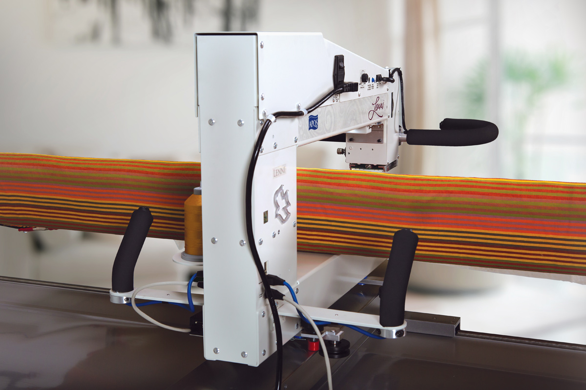 Gallery: Lenni Quilting Machine - Phoeo of Back of Quilting Machine