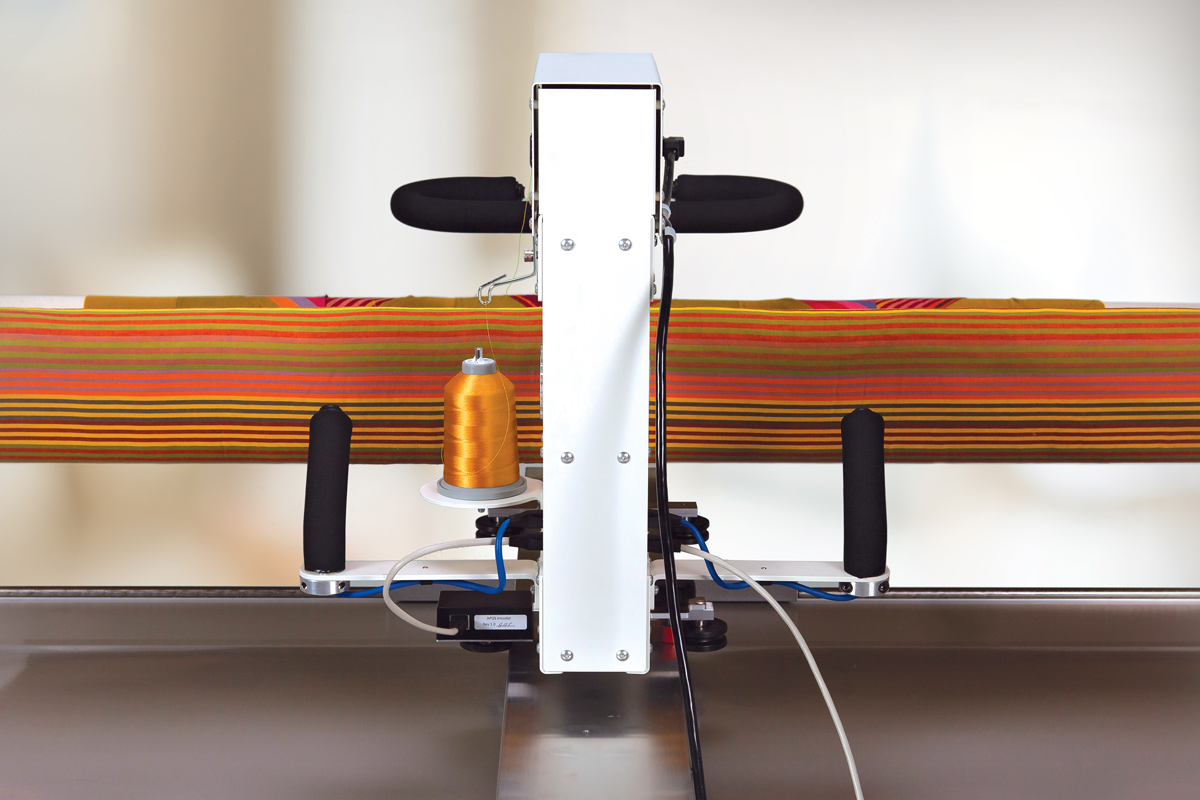 Gallery: Lenni Quilting Machine - Photo of back of quilting machine