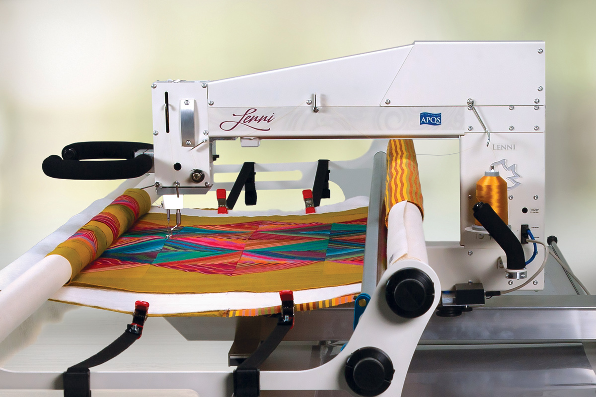 Gallery: Lenni Quilting Machine - Photo of Right side of quilting machine