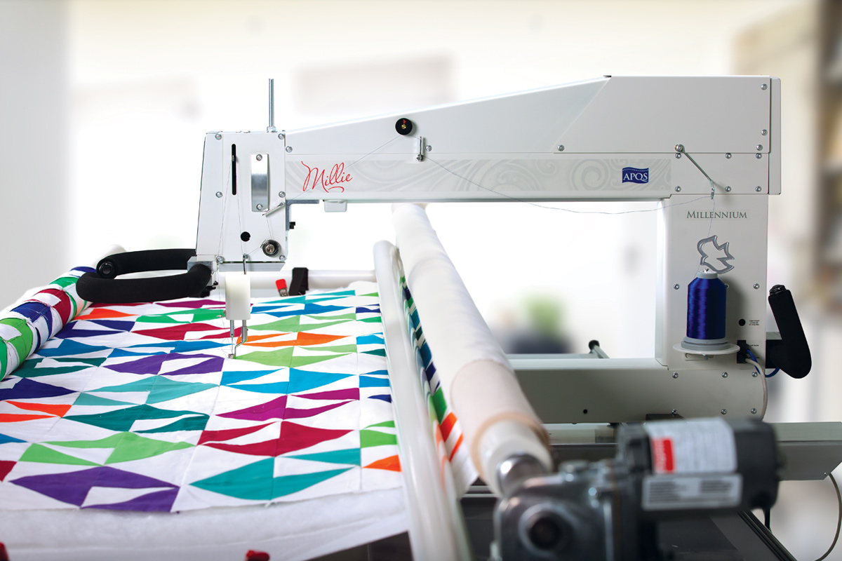 Gallery: Millie Quilting Machine - Right side of machine