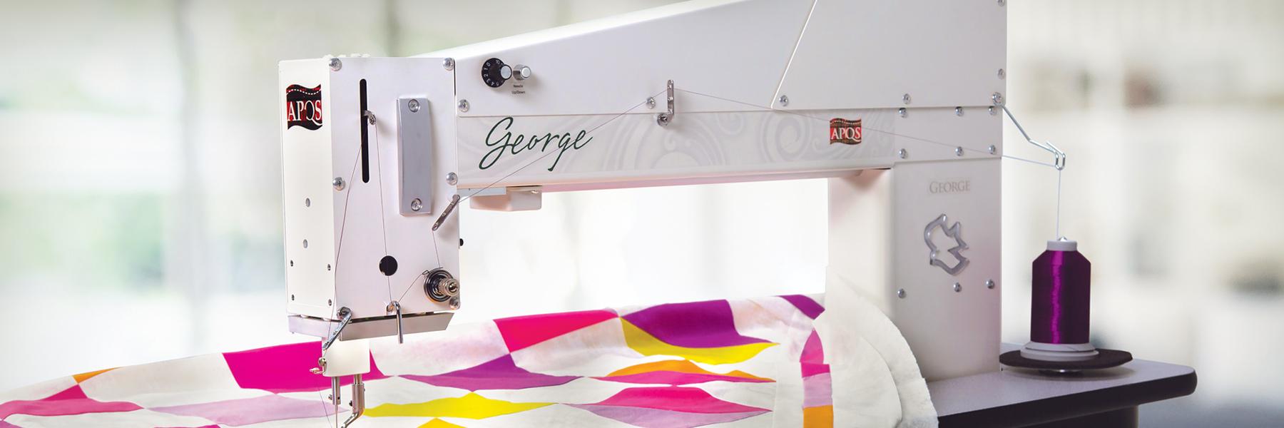 George Quilting Machine - Hero Image