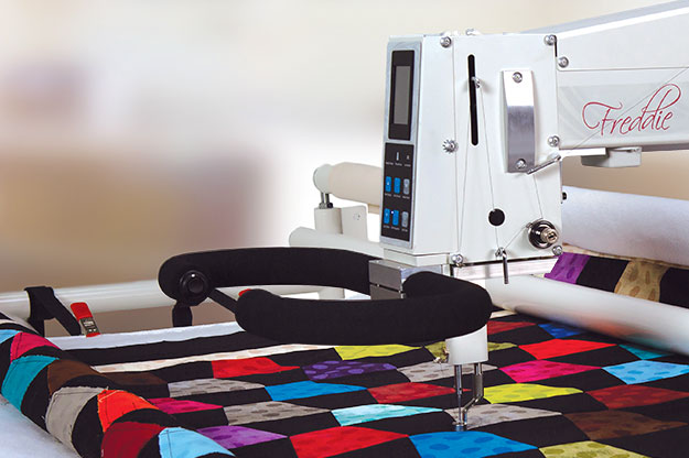 Freddie Longarm Quilting Machine
