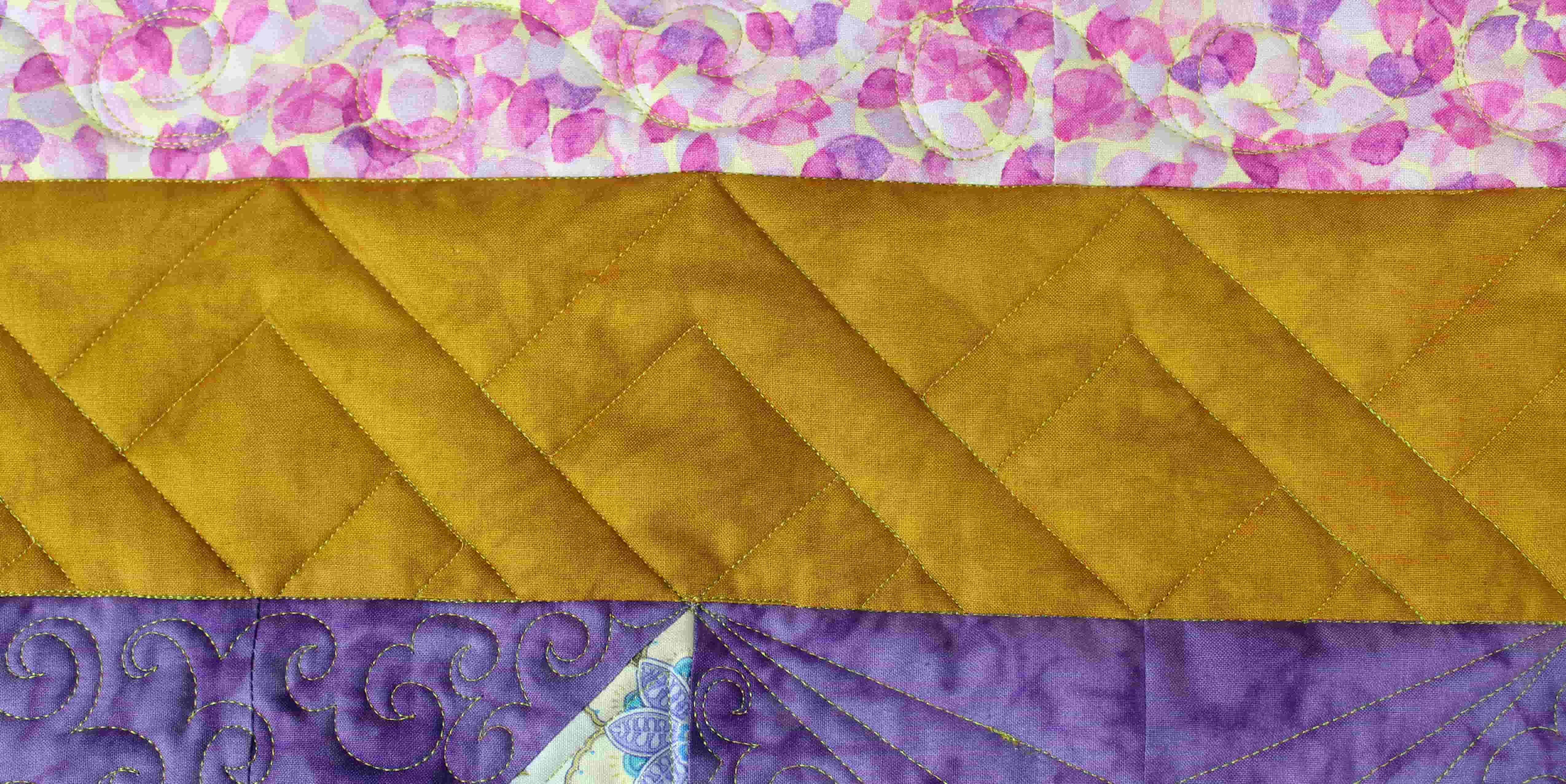 Advanced Trellis Design Quilt Example