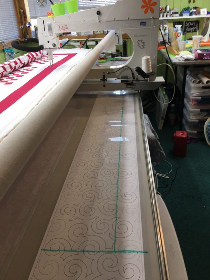 longarm giveaway, giveaway winner, millie, apqs quilting, longarm quilting
