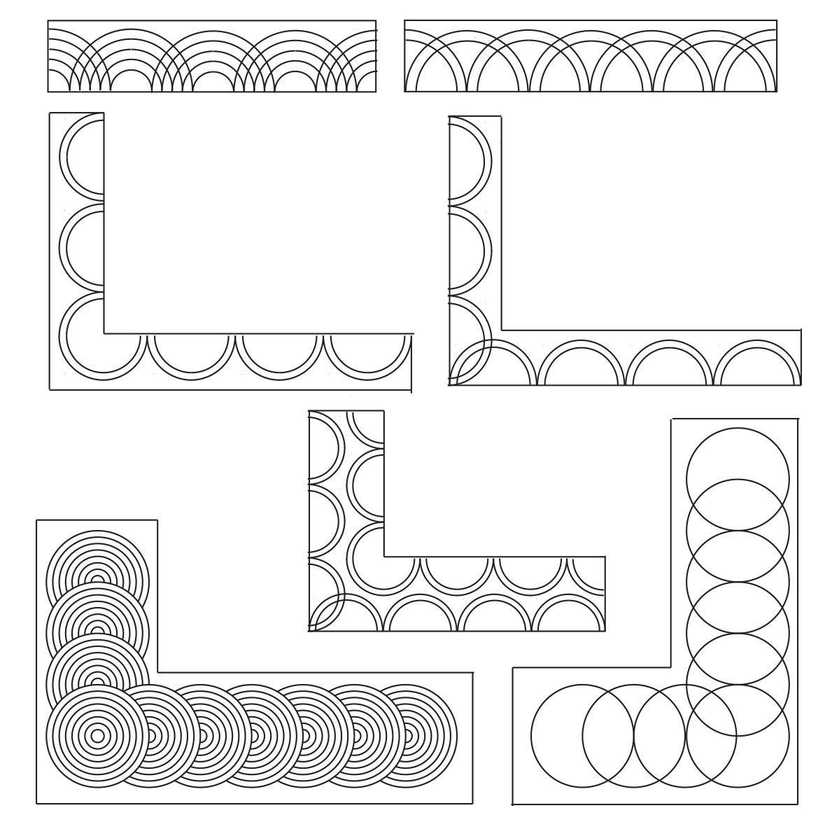 Corner Design Illustrations