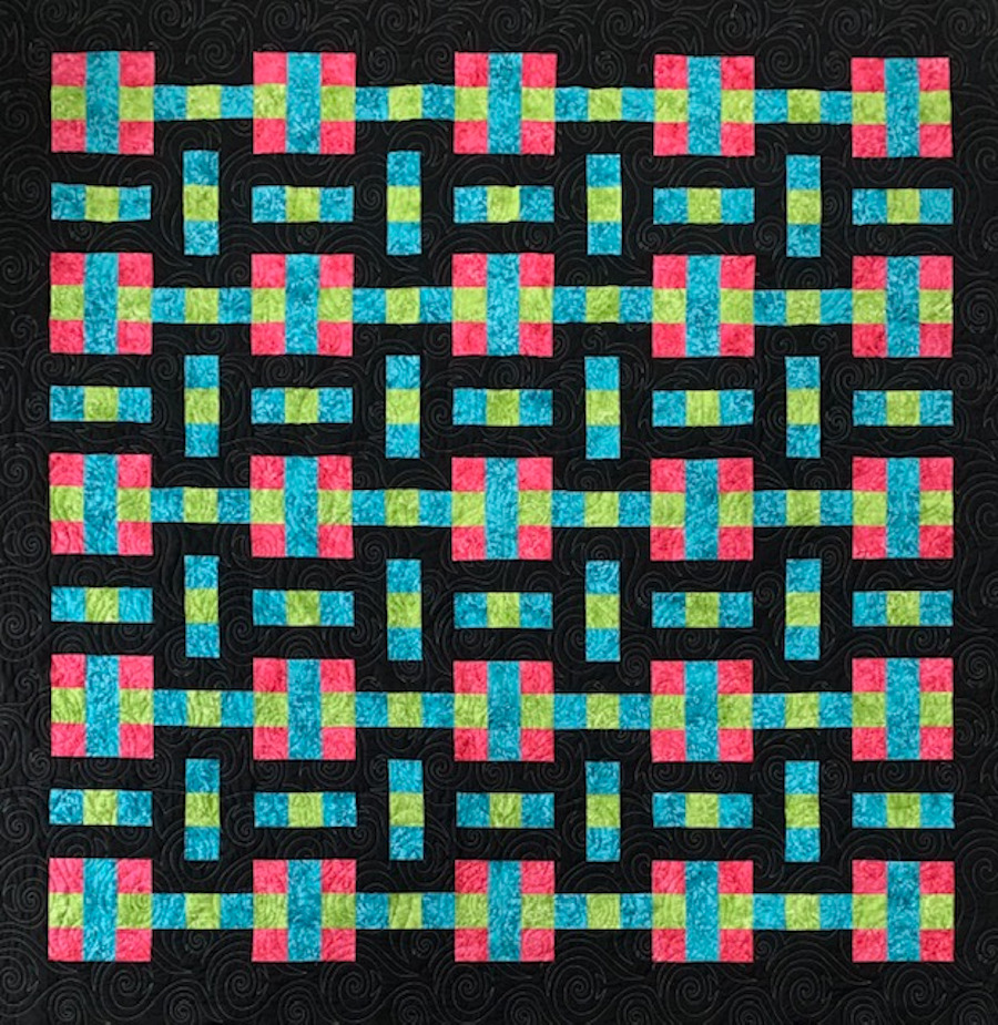 Stepping Stones Quilt by APQS Dealer Tracey Russell