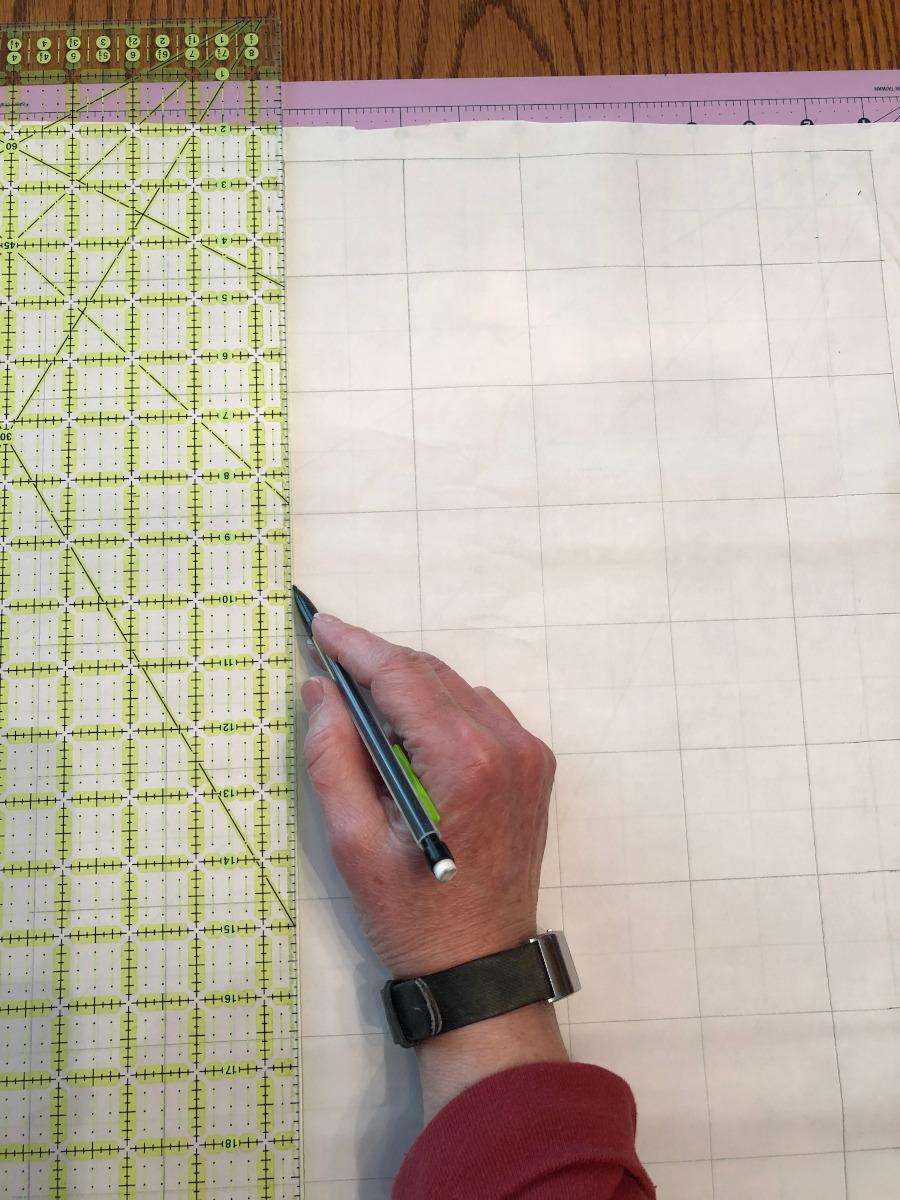 Create a 2-inch grid.