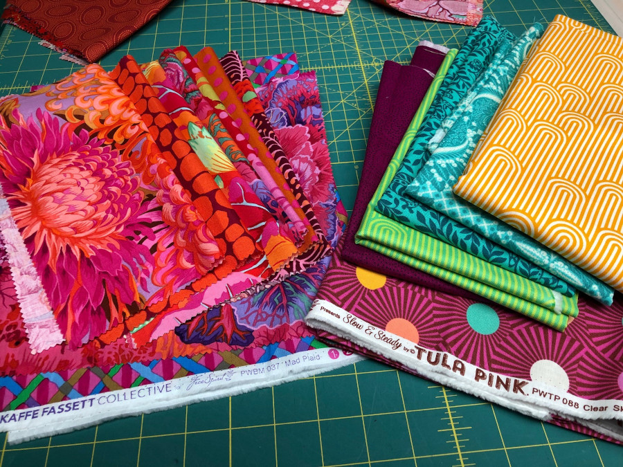 Quick Quilt Top Series Fabric Choices