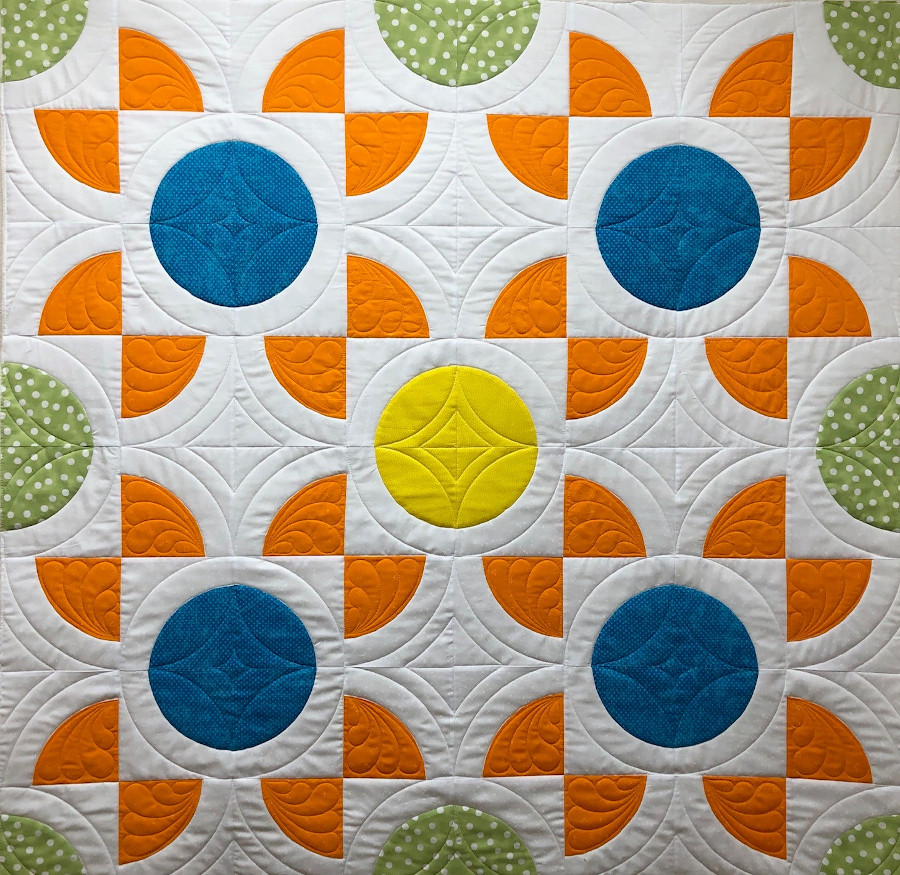 Quick Quilt Top Series Finished Lap Quilt