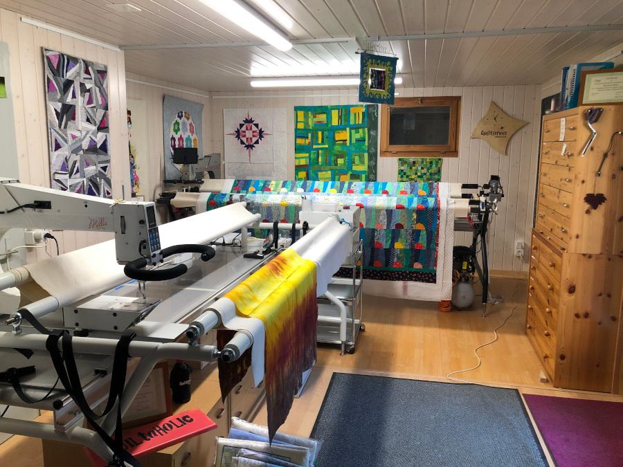 Barbara Heller's Quilting Room