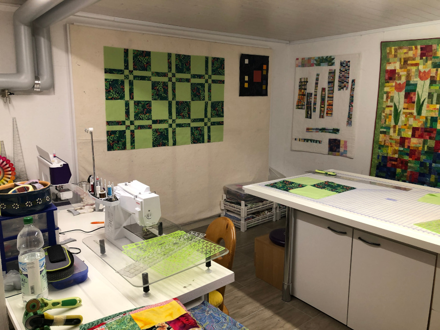 Barbara Heller's Sewing Room