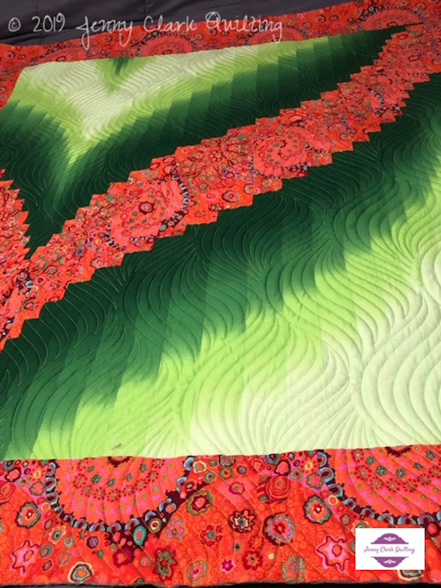 A Jenny Clark Quilting creation.