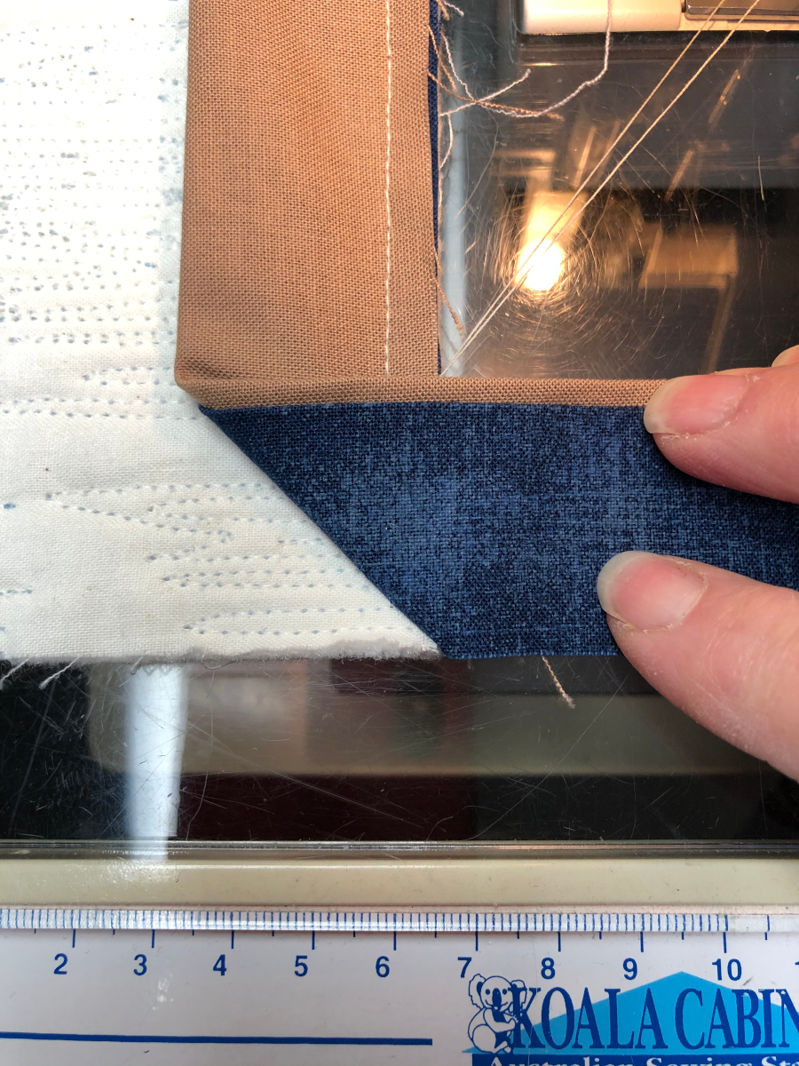 How to Miter the Corners.