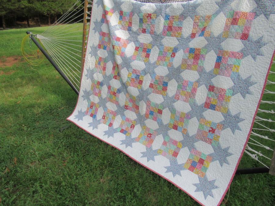 Daisy's Garden quilt